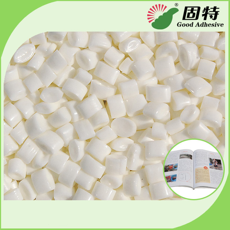 Top grade Low Grams Milk White Hot Melt Coated Paper Spine Bookbinding  EVA Based Hot Glue Adhesive With High Quality