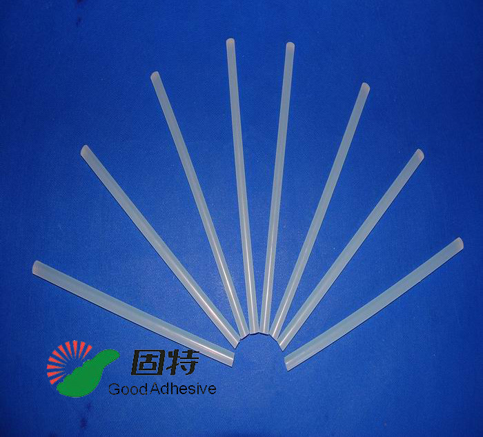 Light White Transparent Hot Melt Adhesive Stick  , Solid High Strength Hot Glue Gun Sticks